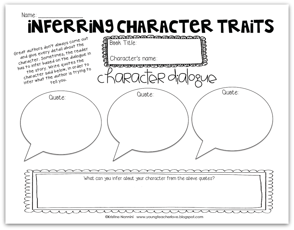 Character Study Part 2 Character Traits Character Change