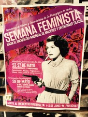 """Feminist week: Toward the national assembly of women and sexual diversity."""