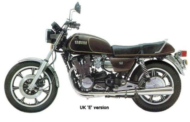 Yamaha XS1100E 78