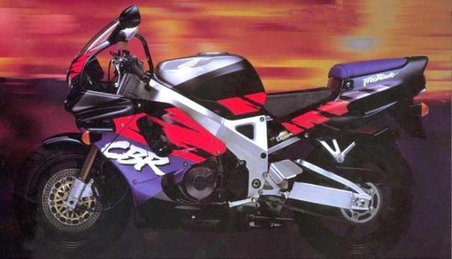 Honda CBR 900RR 1993 black sc28