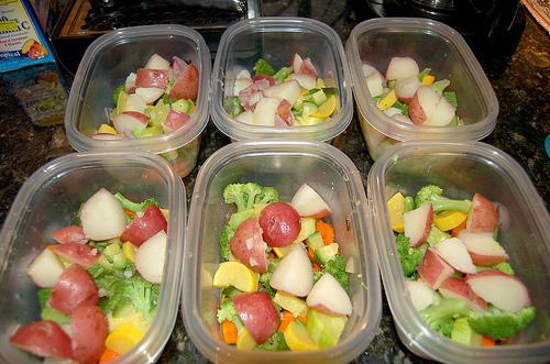Raw Freezer Vegetables