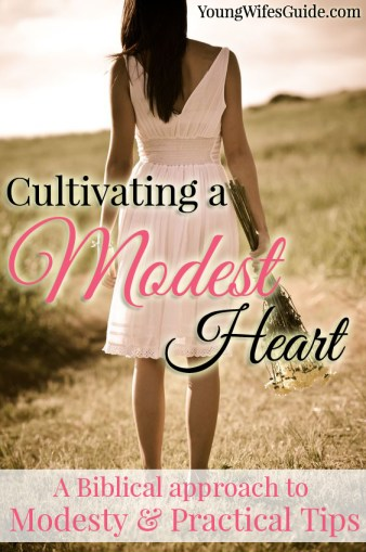 Cultivating a Modest Heart Series