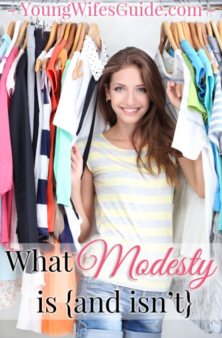 What Modesty is {and isn't}