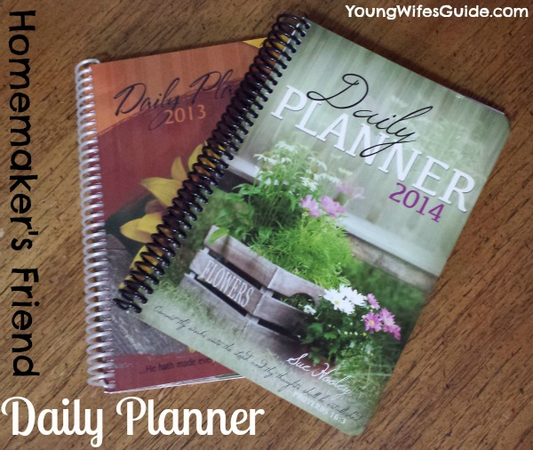 Homemakers Friend Daily Planner