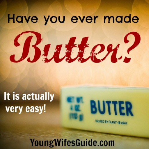 Have you ever made butter? It's actually really easy to make! Find out here