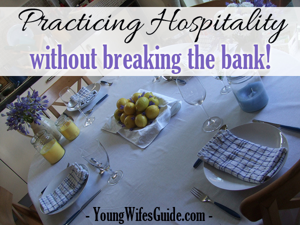 Practicing Hospitality without breaking the bank