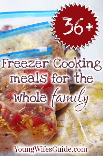 36+ Freezer Cooking Meals for the Whole Family