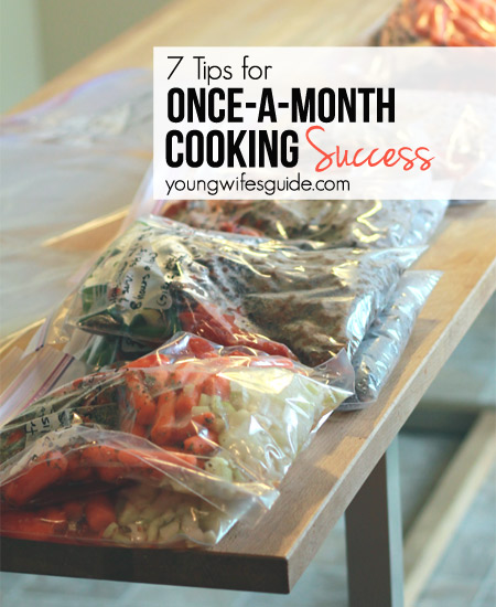 7 Simple Tips for Once a Month Cooking Success
