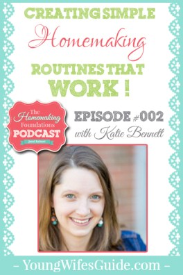 HF #2- Creating Simple Homemaking Routines That Work - Pinterest