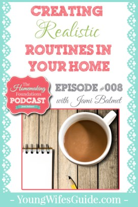 HF #8 - Creating Realistic Routines in your Home - Pinterest