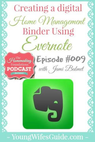 Hf #9 Creating a Digital Home Management Binder Using Evernote