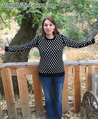 StitchFix Polka Dot Sweater2