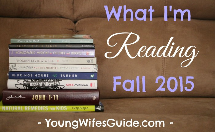 What I'm Reading - Fall 2015