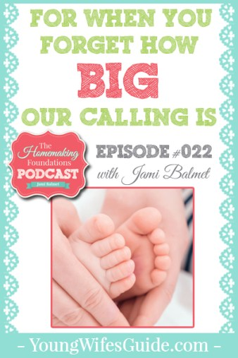 Hf #22 - For when you forget how BIG our calling us - Pinterest