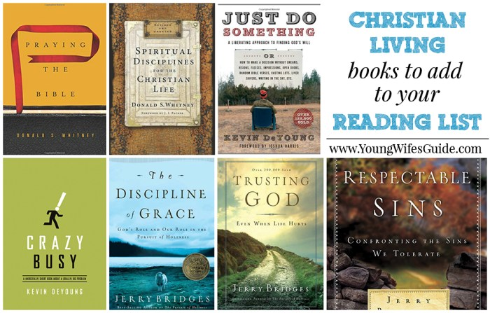 Christian Living Books to add to your list