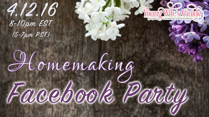 Homemaking Facebook Party