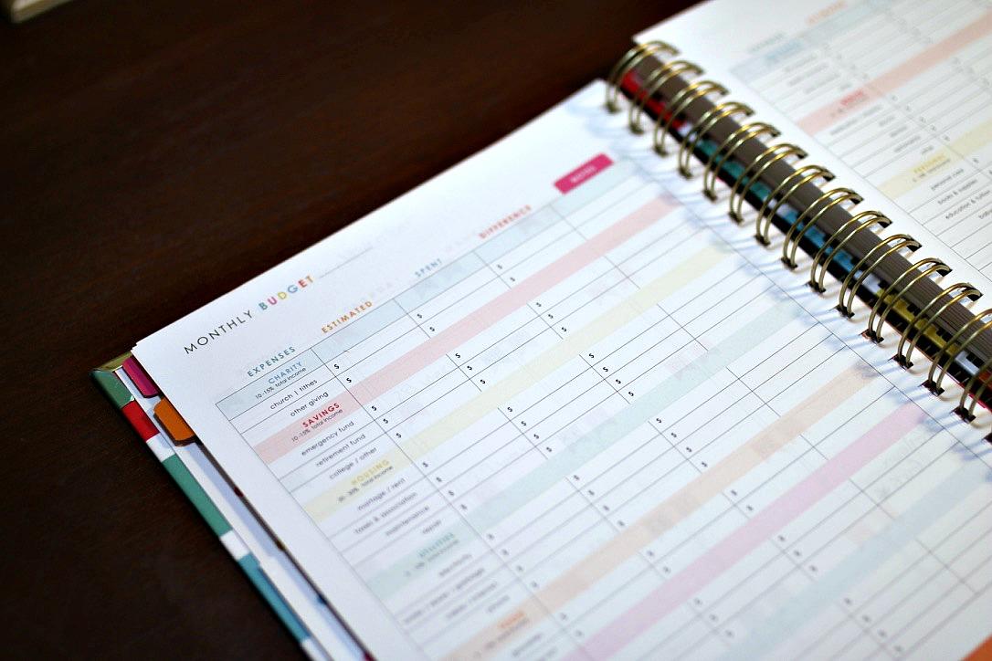 Finances pages
