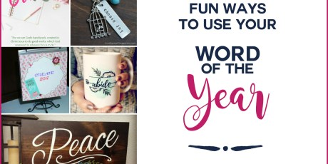 Fun ways to use your word this year