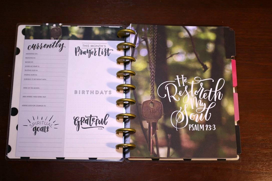 The Monthly Planner
