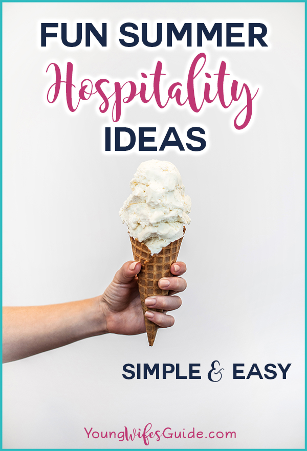 fun summer hospitality ideas hf 84 young wife s guide
