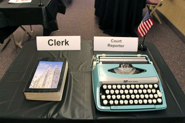 Clerk and Court Reporter
