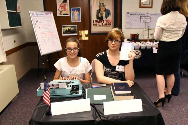 Court reporter and clerk