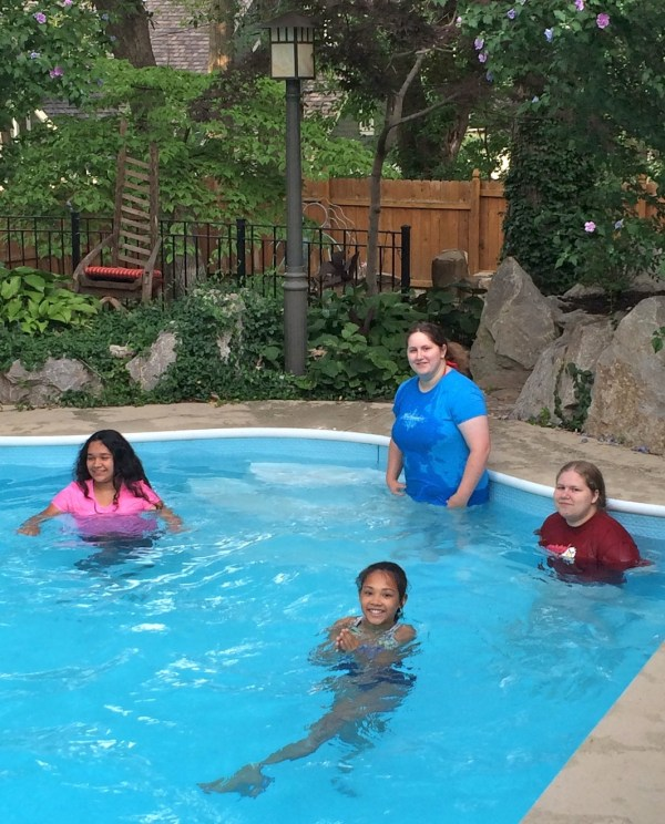 Kansas City First Ward Young Women Swim Party