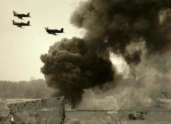 Wolrd War II era battle