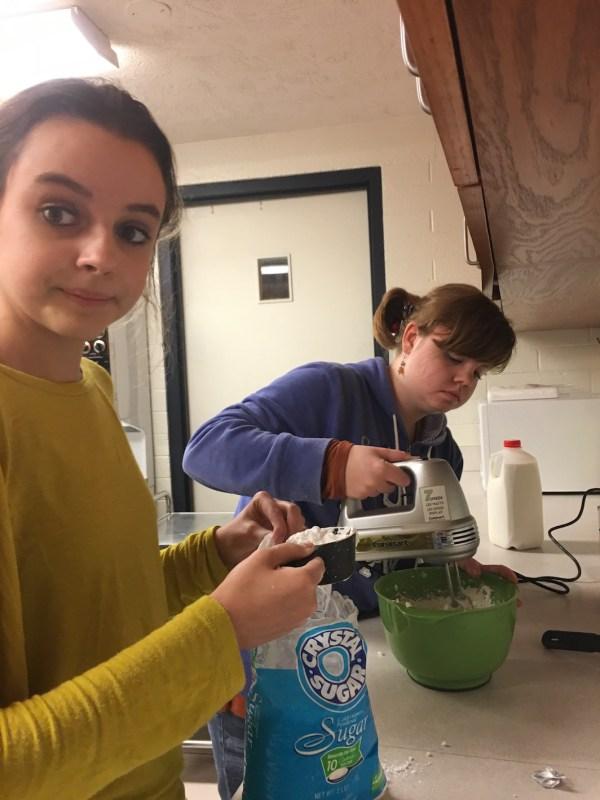 KC1 Young Women Mutual Activity Making Cookies