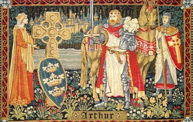 King Arthur And A New Manuscript   Youngzine Society/Arts
