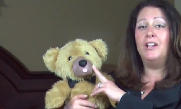 This adorable teddy bear is actually a creepy sex toy