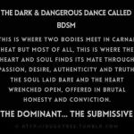 What being a Dominant means to me!