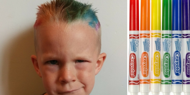 Wash Out Hair Dye For Kids Rainbow Crazy Hair You