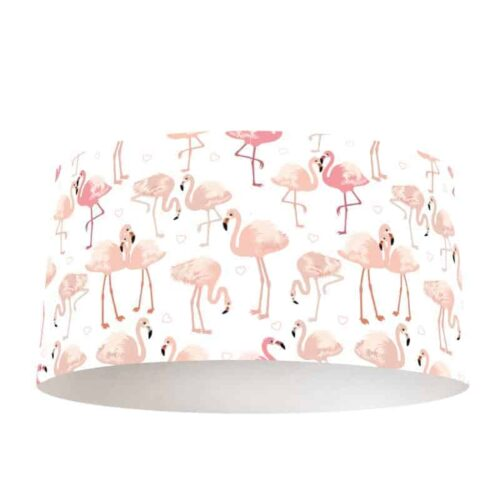 Lampenkap flamingo patroon 4