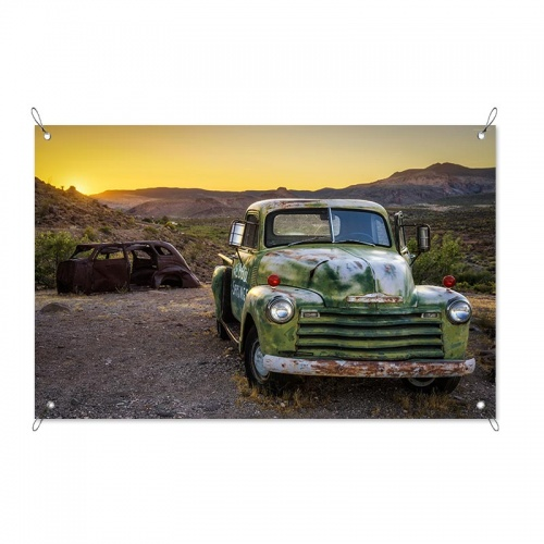 Tuinposter Langs Route 66
