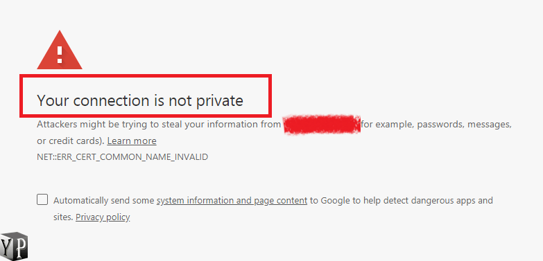 [100% Fixed] Your Connection Is Not Private Error In Chrome Browser
