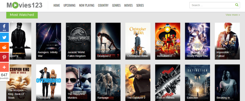 movies123 movie website