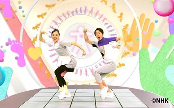 NHK「おかあさんといっしょ」 からだダンダンのDVDラベルを作ってみた