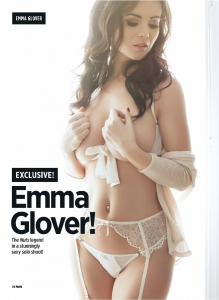 Emma Glover - Emma Glover very sexy for Nuts Magazine