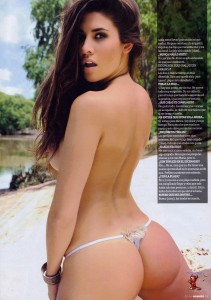 Ivana Nadal2 - Ivana Nadal for Hombre Magazine Argentina