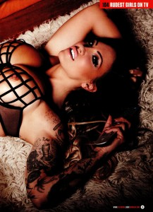Jodie Marsh8 - Jodie Marsh presents 104 Rudest Girls on TV for Zoo Magazine