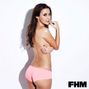 Lucy Watson1 - Lucy Watson for FHM Magazine