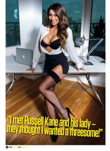 "Luisa Zissman10 - Luisa Zissman is ""Unbelievably Rude"" for Zoo Magazine"