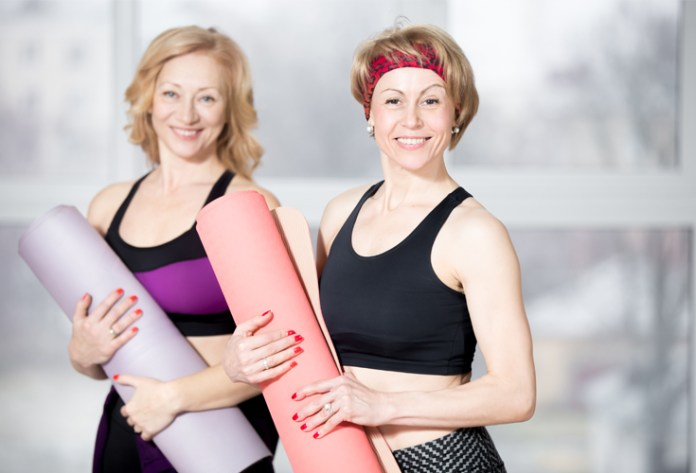 For women, after the age of 40, there are many hormonal changes including menopause. These changes can make it even harder to lose weight and keep it off. However, you do not need to settle for weight gain after 40, it is still possible to lose weight. Grab a friend and a work together on shedding those pounds and feel years younger.