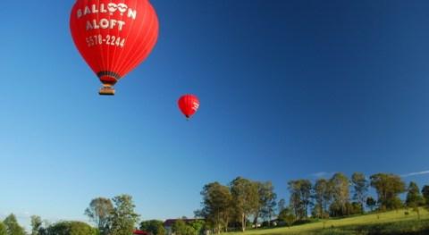 Gold Coast balloon trip