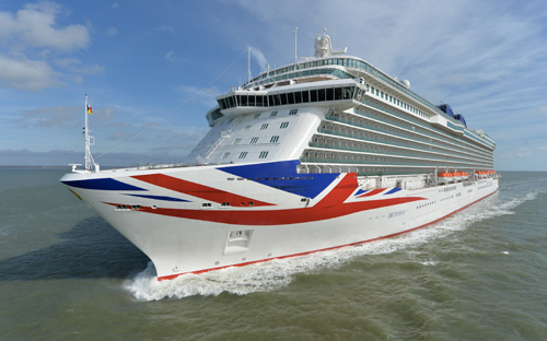 Top 10 facts about P&O's Britannia