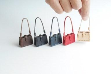 革のぷち肩掛け鞄の手作りキット(栃木レザー)