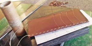 手縫い(オーダーメイドの手帳カバー)