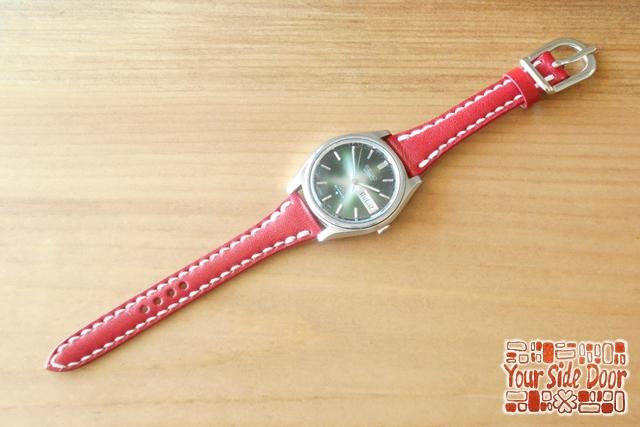 オーダーメイドの腕時計バンド