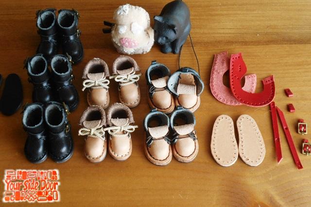 ぷちマグネットの革靴が並びま~す